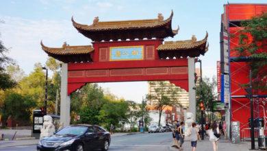 تصویر از نژادپرستی ضد آسیایی مرتبط با کووید19 و کمبود گردشگر باعث تخریب محله چینی های مونترال