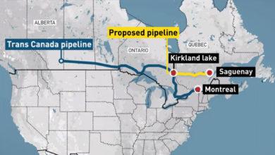 تصویر از مقامات کبک : پروژه گاز طبیعی مایع باعث تقویت منطقه ساگوئن میشود