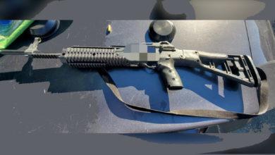 تصویر از کشف یک قبضه تفنگ نیمه خودکار پر در پارک استراتکوانا توسط نیروهای پلیس ونکوور