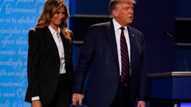 تصویر از آزمایش کووید19 دونالد ترامپ و ملانیا ترامپ مثبت همراه با علائم خفیف اعلام شد
