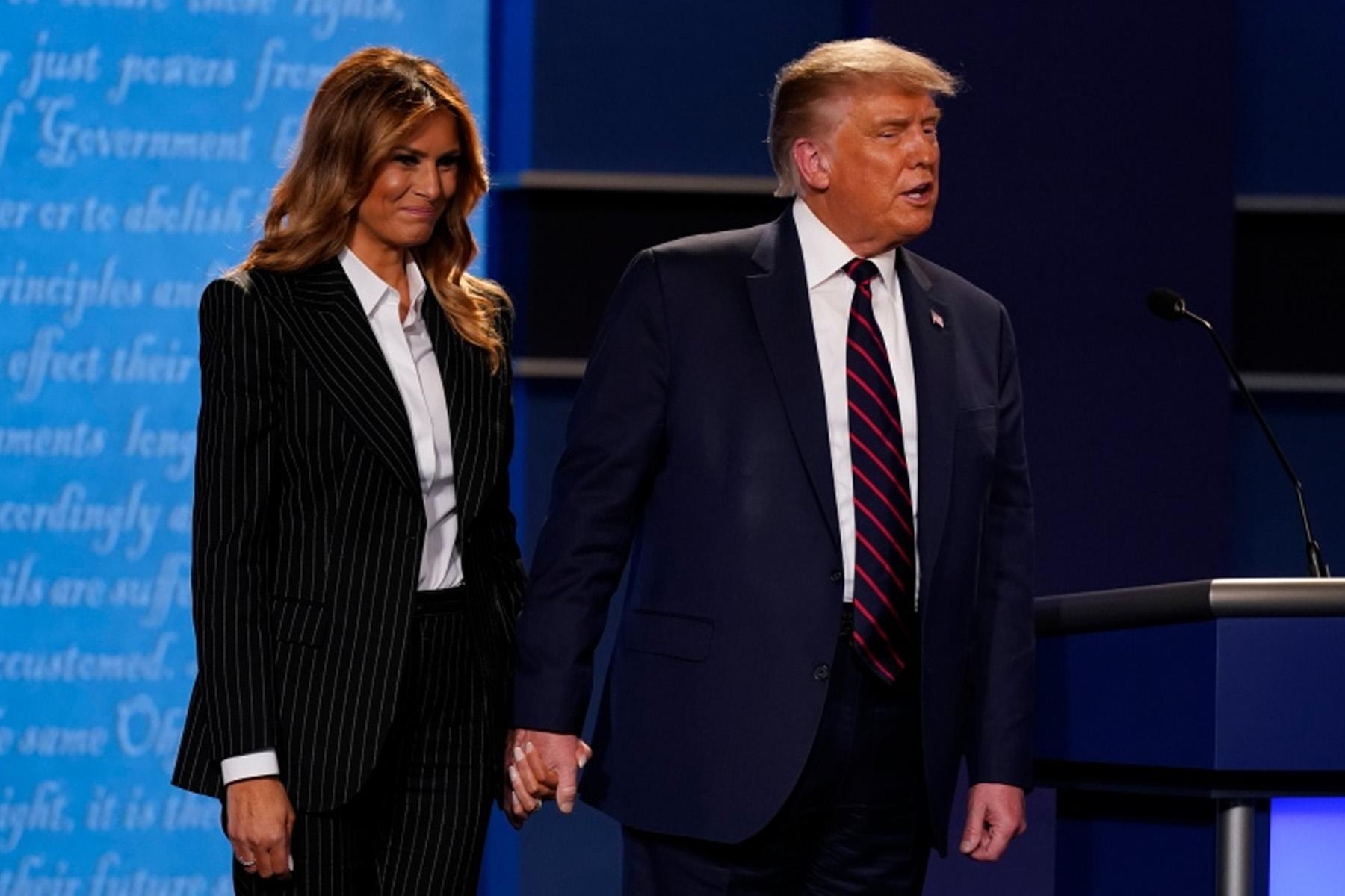 آزمایش کووید19 دونالد ترامپ و ملانیا ترامپ مثبت همراه با علائم خفیف اعلام شد
