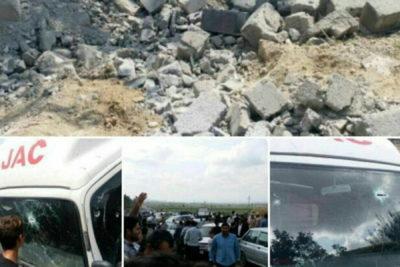 اصابت 5 خمپاره به خاک ایران و زخمی شدن یک کودک درپی جنگ ارمنستان و جمهوری آذربایجان