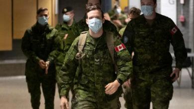 تصویر از ارتش کانادا : 220 نفر از نظامیان کانادایی به کووید19 مبتلا شدند