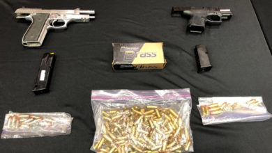 تصویر از پلیس نیو وست مینستر : کشف و ضبط مقادیر قابل توجهی مواد مخدر و سلاح گرم
