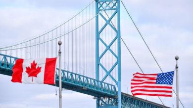 تصویر از جلوگیری از ورود 3400 نفر امریکایی به کانادا برای خرید و سیاحت در ماه گذشته