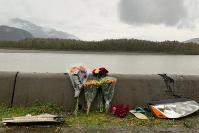 حادثه سقوط اتومبیل در رودخانه فریزر شهر چیلیواک _ بریتیش کلمبیا جان دو دختر نوجوان را گرفت