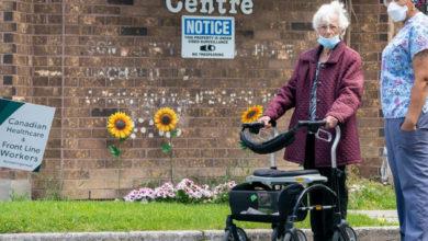 تصویر از گردش برای ساکنان خانه های سالمندان تورنتو ، پیل و اتاوا ممنوع شد
