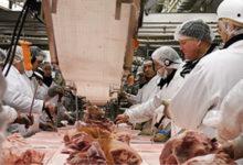 تصویر از کارگر کارخانه بسته بندی گوشت در کبک یک روز قبل از مرگش جواب آزمایش کووید-19 مثبت بود