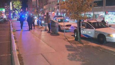 تصویر از تیراندازی در مرکز شهر تورنتو :انتقال مردی که به شدت زخمی شده بود به بیمارستان