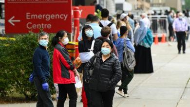 تصویر از انتاریو گزارش داد : بیش از 900 مورد مبتلای جدید به کرونا و بالاترین رکورد میانگین هفت روزه