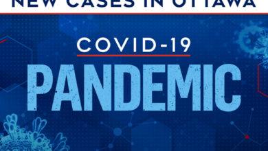تصویر از اتاوا در جدید ترین موارد ابتلا به کووید 19 شاهد بیشترین تعداد مبتلایان روزانه بود
