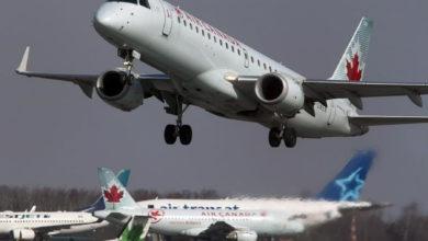 تصویر از ایر کانادا : ضرر 685 میلیون دلاری سه ماهه سوم امسال در مقایسه با سود 636 میلیون دلاری سال قبل