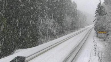 تصویر از بارش برف ، هشدار در خصوص وقوع کولاک و طوفان در بزرگراه های خارج از ونکوور