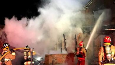 تصویر از آتش سوزی در کاناتا دو کشته بر جای گذاشت