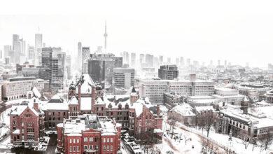 تصویر از انتظار می رود در مناطقی از منطقه تورنتو بزرگ تا 10 سانتی متر برف ببارد