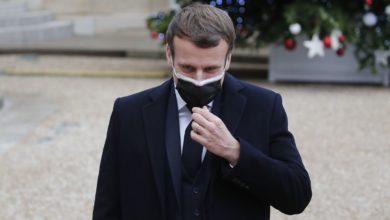 تصویر از رئیس جمهور فرانسه ، امانوئل مکرون آزمایش کووید19 مثبت اعلام شد
