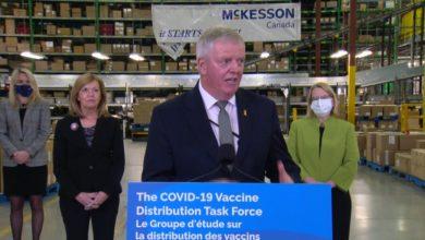 تصویر از واکسیناسیون کووید19 پس از مکث در تعطیلات کریسمس از امروز با سرعت در انتاریو آغاز شد