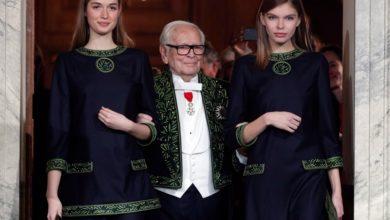 تصویر از پیر کاردین ، طراح لباس مطرح فرانسوی در سن 98 سالگی درگذشت