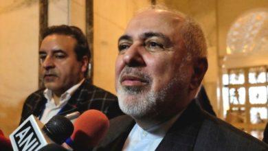 تصویر از پاسخ تند ظریف به وزیر امور خارجه فرانسه : از گفتن مزخرفات و چرندیات در مورد فعالیت هسته ای تهران بپرهیزید