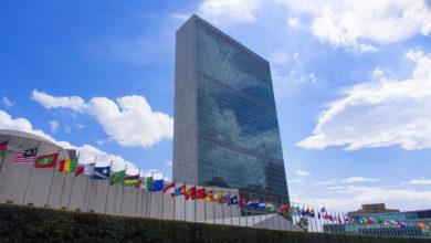 تصویر از ایران بدلیل بدهی حق رای خود را در سازمان ملل متحد را از دست داد