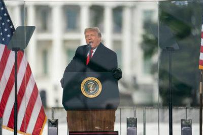 رئیس جمهور دونالد ترامپ برای مراسم تحلیف جو بایدن اعلامیه اضطراری صادر کرد