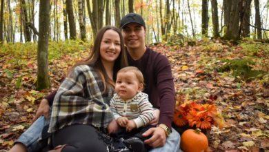تصویر از ممکن است برای درمان کودک 1 ساله خانواده اهل GOLDEN LAKE معجزه ای اتفاق بیافتد