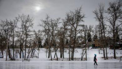 تصویر از گردباد قطبی در حال رسیدن به کاناداست ، به این معنی که زمستان نه چندان گرم دوامی نخواهد داشت