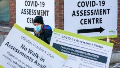 تصویر از نزدیک به 3000 نفر مبتلای جدید به کووید19 و 25 مورد مرگ و میر دیگر در انتاریو ثبت شد