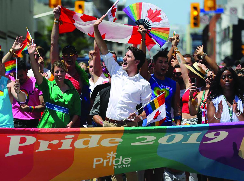 تصویر از آشنایی با انواع گرایشات جنسی به مناسبت pride parade در تورنتو