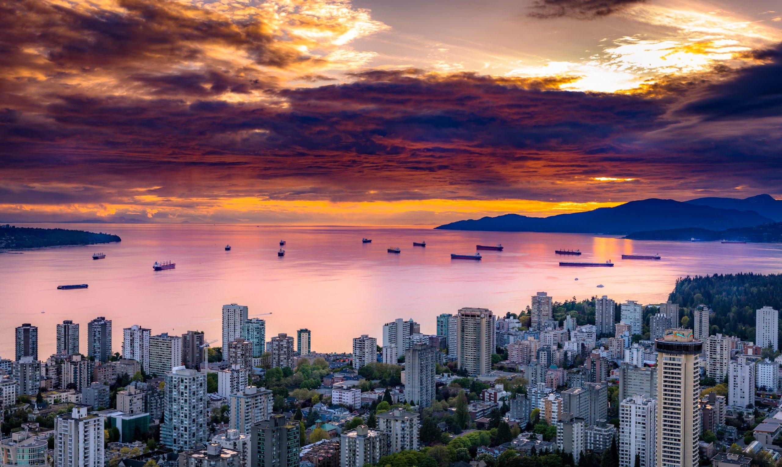 تصویر از قیمت خانه در ونکوور کاهش نیافت اما …