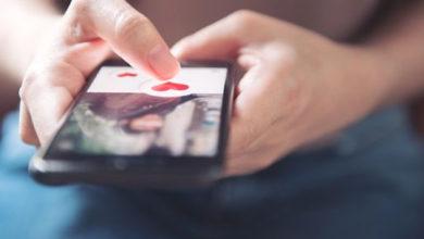 تصویر از افزایش قابل توجه دوستیابی های آنلاین در مقایسه با زندگی های واقعی
