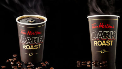 تصویر از تیم هورتونز از قهوه دارک روست جدیدش رونمایی کرد