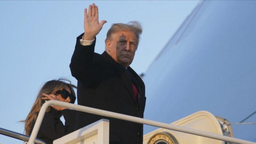 صبح روز تحلیف جو بایدن ، دونالد ترامپ واشینگتن را ترک خواهد کرد