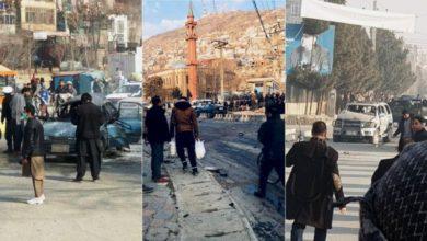 تصویر از افغانستان : دو کشته و پنج زخمی در کابل نتیجه سه انفجار در کمتر از سه ساعت