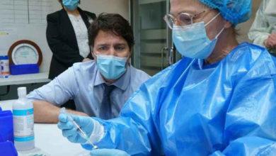 تصویر از برخی از مونترالی ها از واکسیناسیون آسترازنکا خودداری کردند