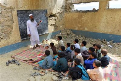 کلاس درس در افغانستان