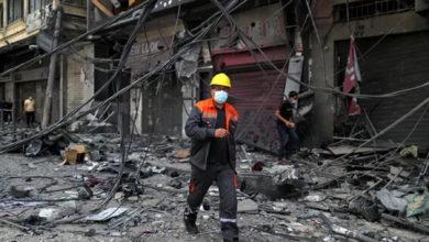 تصویر از درگیری های اسرائیل و فلسطین از غزه به کرانه باختری، مرزهای لبنان، اردن و سوریه رسید