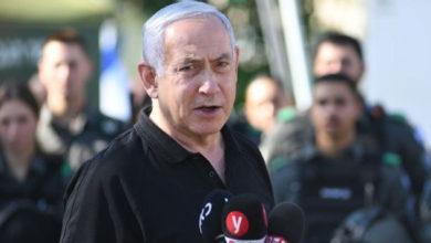 تصویر از بنیامین نتانیاهو : حملات تا زمانی که لازم باشد ادامه پیدا می کند