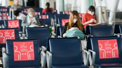 فرودگاه پیرسون تورنتو تفکیک مسافران ورودی بر اساس وضعیت واکسیناسیون را آغاز میکند