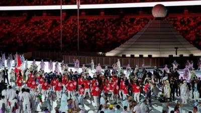 المپیک توکیو : مراسمی خاموش و بیصدا در تضاد کامل با افتتاحیه پرهیاهو بازیهای قبلی