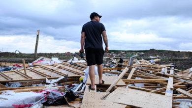 تصویر از توفان «فاجعه آمیز» در بری انتاریو به ده نفر صدمه زد و چندین خانه را خراب کرد