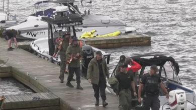 تصویر از تصادف قایق در مسکوکا انتاریو ۲ کشته و ۴ مجروح بر جای گذاشت