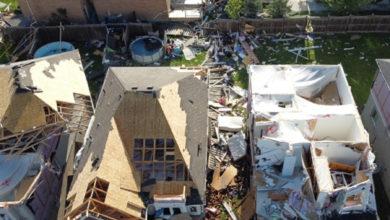تصویر از داگ فورد : توفان EF2 کاملاً ویران کننده بود؛ استان به ساکنان بری کمک خواهد کرد