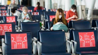 فرودگاه پیرسون تورنتو تصمیم خود مبنی بر تفکیک مسافران ورودی طبق وضعیت واکسیناسیون را لغو کرد