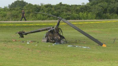 سقوط هلیکوپتر در برنتفورد انتاریو در حال بررسی است