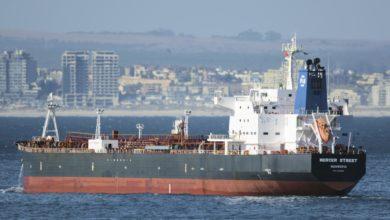 تصویر از اسرائیل ایران را مسئول حمله به نفتکش مرسر استریت می داند و به دنبال پاسخ تند است
