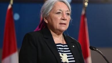 تصویر از ماری سایمون به عنوان اولین فرماندار بومی کل کانادا منصوب شد