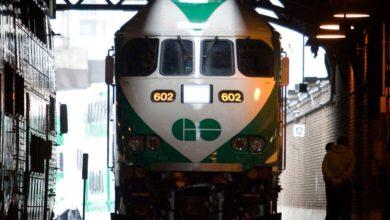 تصویر از فعالیت خط مترو وست گُو (West GO) پس از تصادف مرگبار با عابر پیاده به حالت عادی برگشت