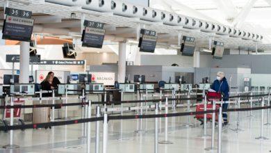 تصویر از فرودگاه پیرسون تورنتو تفکیک مسافران ورودی بر اساس وضعیت واکسیناسیون را آغاز میکند