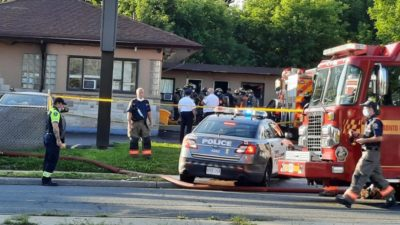 آتشسوزی در متلی در اسکاربرو باعث مرگ مردی شد